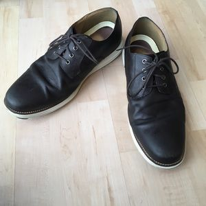 Cole Haan and Nike Air Brown oxfords.